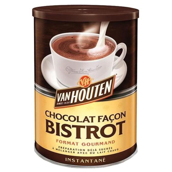 Van Houten Cacao façon bistrot 425gr (lot de 3)