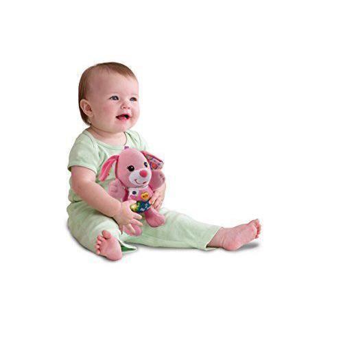 VTech Baby 3480-502357 - COMMUTATEUR KVM - -ndash Peque chien de peluche interactif rose