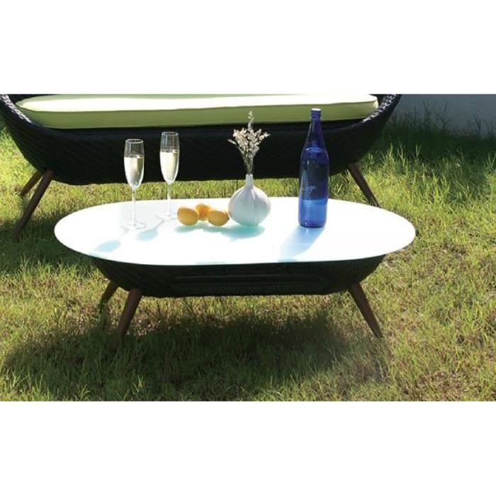 table de jardin ovale plastique maison design. Black Bedroom Furniture Sets. Home Design Ideas