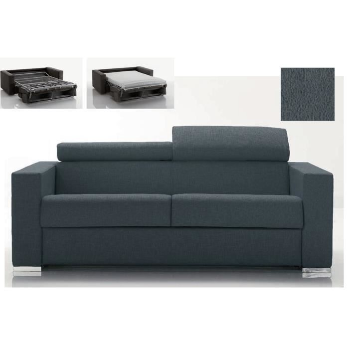 Canap convertible glad 3 places couchage r gulier for Canape 7 places convertible