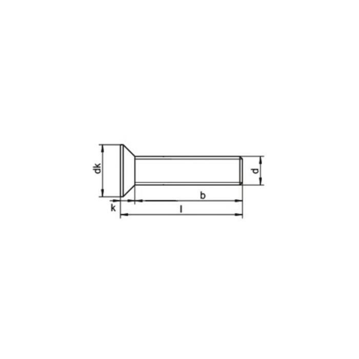 DIN 965 fraisée cruciforme pozidriv pz Acier Inoxydable a2 divers dimensions