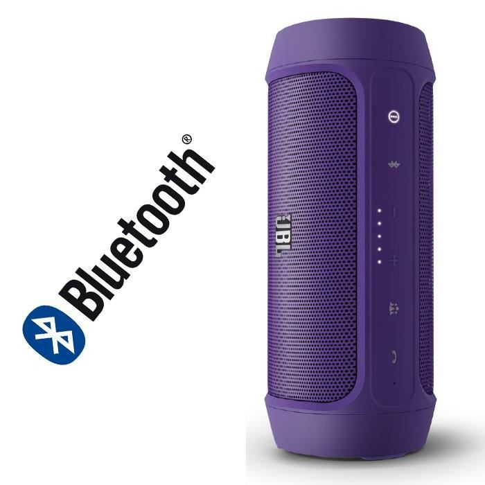 jbl charge 2 enceinte st r o bluetooth violet enceintes bluetooth avis et prix pas cher. Black Bedroom Furniture Sets. Home Design Ideas