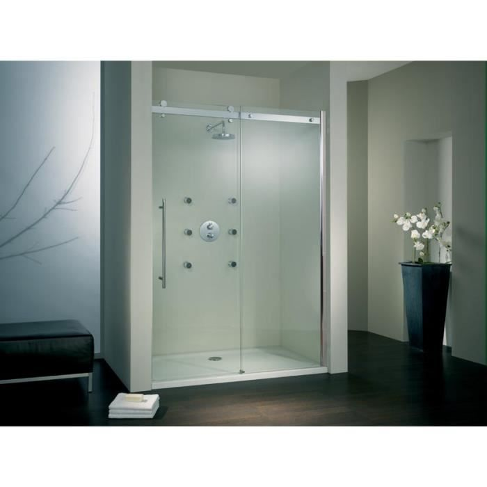 porte de douche coulissante urban 120 x 200 cm verre. Black Bedroom Furniture Sets. Home Design Ideas