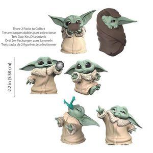 FIGURINE - PERSONNAGE Star Wars The Mandalorian - Pack de 2 figurines Ba