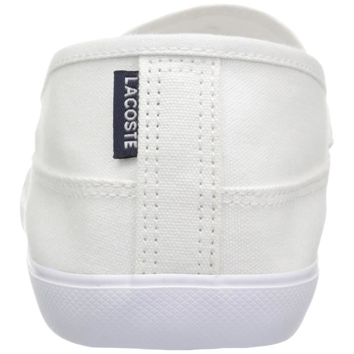 Lacoste Marice Toile Mocassins FZ35J Taille-39 UIaF2