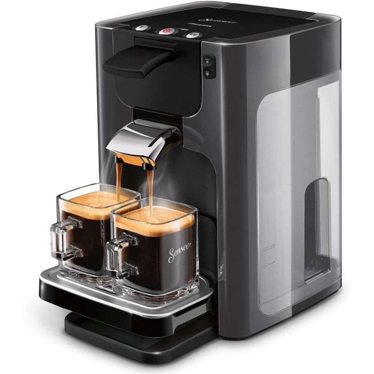 cafeti re philips senseo hd7866 21 quadr achat vente machine expresso cdiscount. Black Bedroom Furniture Sets. Home Design Ideas