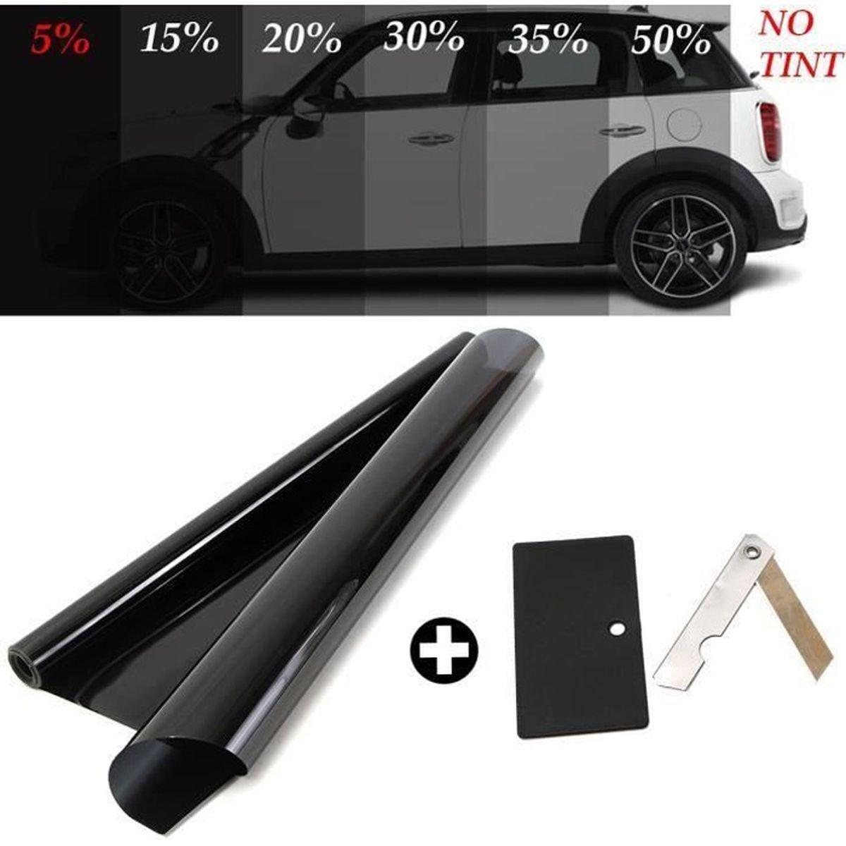 Protections solaire pour vitre arri/ère et vitre lat/érale Kit de protections solaire pour voiture Noir 5 pcs