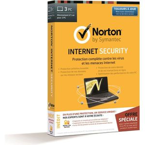 Norton Internet Security 2014 3 postes + Assurance