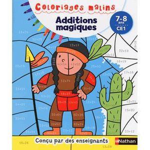 DOCUMENTAIRE ENFANT NATHAN Additions magiques CE1