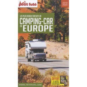 LIVRE TOURISME MONDE Petit Futé Les plus beaux circuits en camping-car