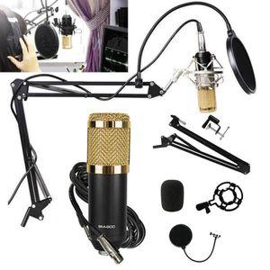 MICROPHONE Kit Microphone à condensateur professionnel Ensemb