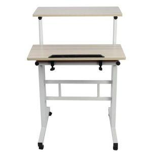 BUREAU  Table Informatique Meuble de Rangement, Table pour