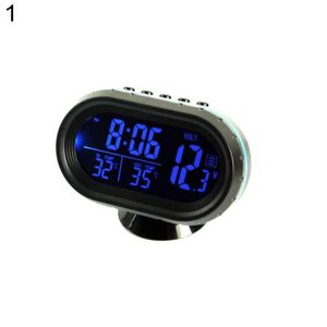 HORLOGE - PENDULE Tableau de bord LCD rétroéclairage numérique horlo