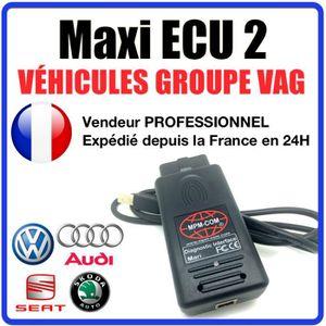OUTIL DE DIAGNOSTIC Maxi ECU 2 + Interface MPM-COM Spécial Groupe VAG