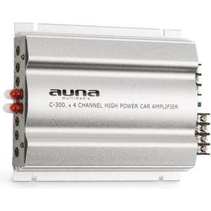 AMPLIFICATEUR AUTO auna C300.4 Amplificateur de voiture 4 canaux pour