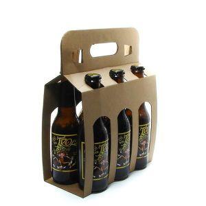 BIÈRE Pack de 6 bières de Belgique Cuvée des Trolls Blon