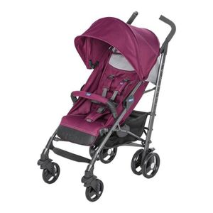 POUSSETTE  CHICCO Poussette canne Liteway 3 red plum