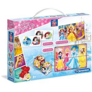 MALLETTE MULTI-JEUX CLEMENTONI  Mini Edukit - Disney Princesses - Domi