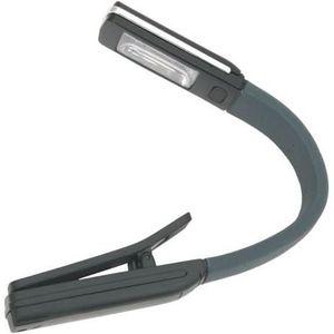 LAMPE DE POCHE Dakota - Lampe de lecture LED, flexible, noir