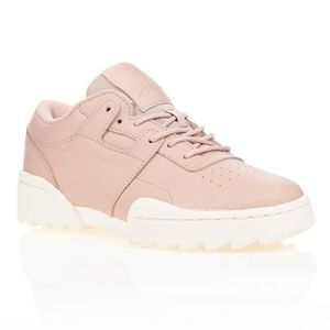 CHAUSSURES MULTISPORT REEBOK Baskets Workout Ripple - Femme - Beige