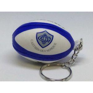 PORTE-CLÉS Porte clés rugby - Castres Olympique - Gilbert U B