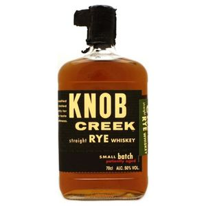 WHISKY BOURBON SCOTCH Knob Creek Rye Straight Rye Whiskey
