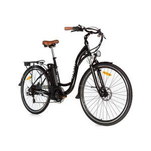 VÉLO ASSISTANCE ÉLEC Vélo électrique de ville Moma Bikes VAE Shimano ro