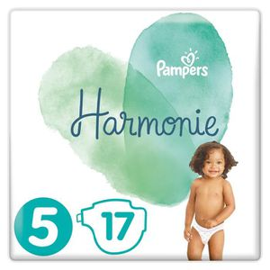 COUCHE PAMPERS Harmonie Taille5, 11 kg+, 17Couches