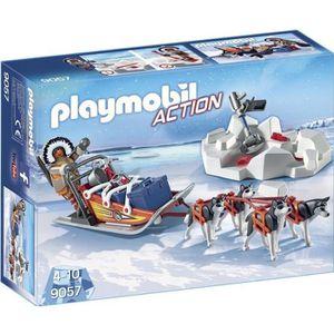 UNIVERS MINIATURE PLAYMOBIL 9057 - Action - Explorateur avec Chiens