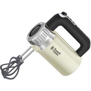 BATTEUR - FOUET RUSSELL HOBBS 25202-56 - Batteur Rétro crème - 500