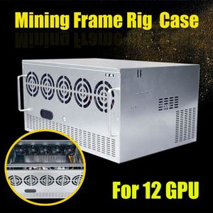 BOITIER PC  TEMPSA Miner Mining Frame Rig Graphics Case Cadre