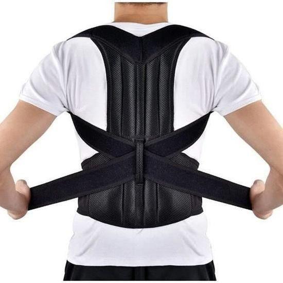 Mauvaise Posture correcteur corps orthèse dos lombaire épaule soutien ceinture