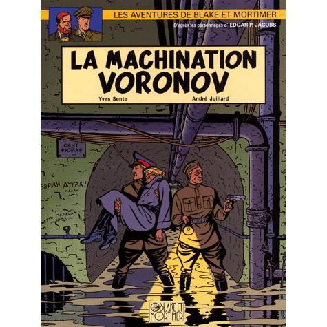 BANDE DESSINÉE La machination Voronov
