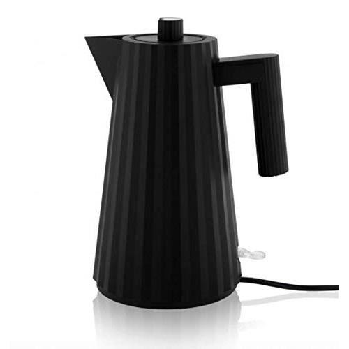 Bouilloire électrique plissée 1 l Noir.