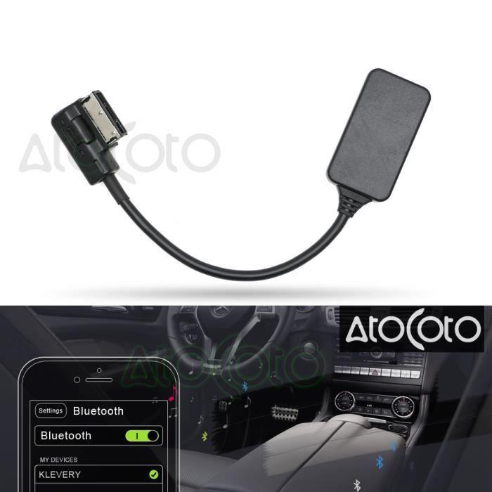 Bluetooth Aux Câble Adaptateur Pour Mercedes Benz W212 S212 C207 Radio Médias Interface Mmi