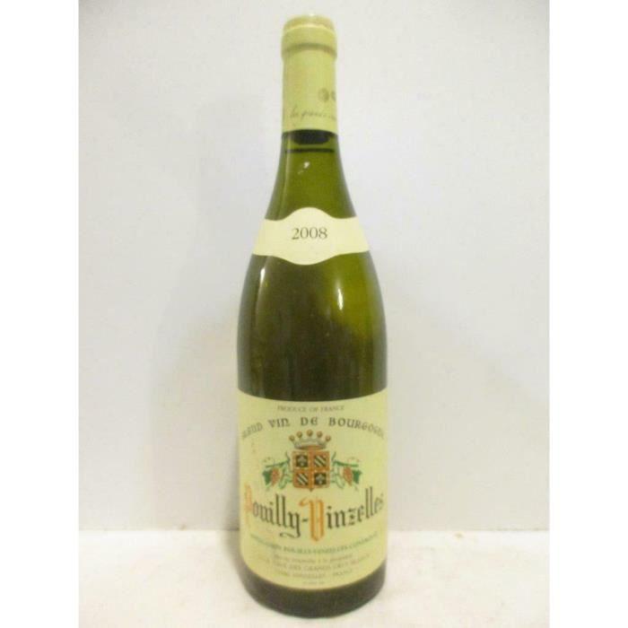 pouilly-vinzelles cave des grands crus blancs blanc 2008 - bourgogne