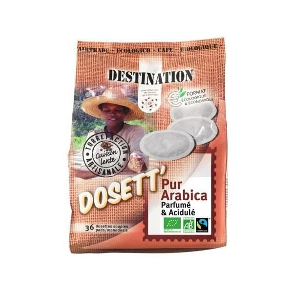 Dosettes bio compatibles Senseo® - Sélection 10...