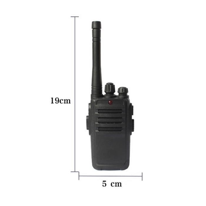 Talkie Walkie enfant,2 pièces Portable Mini talkie walkie enfants Radio fréquence émetteur récepteur jambon Radio enfants jouets
