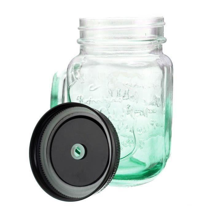 500ML Tasse de l'eau verre à vin whisky gradient de couleur Vert Aw21078
