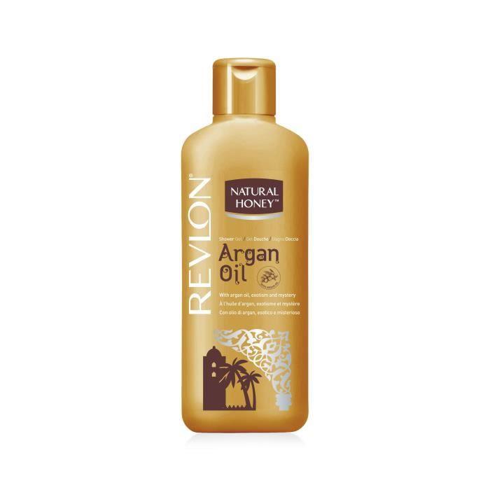 NATURAL HONEY Gel douche Elixir d'argan - 650 ml