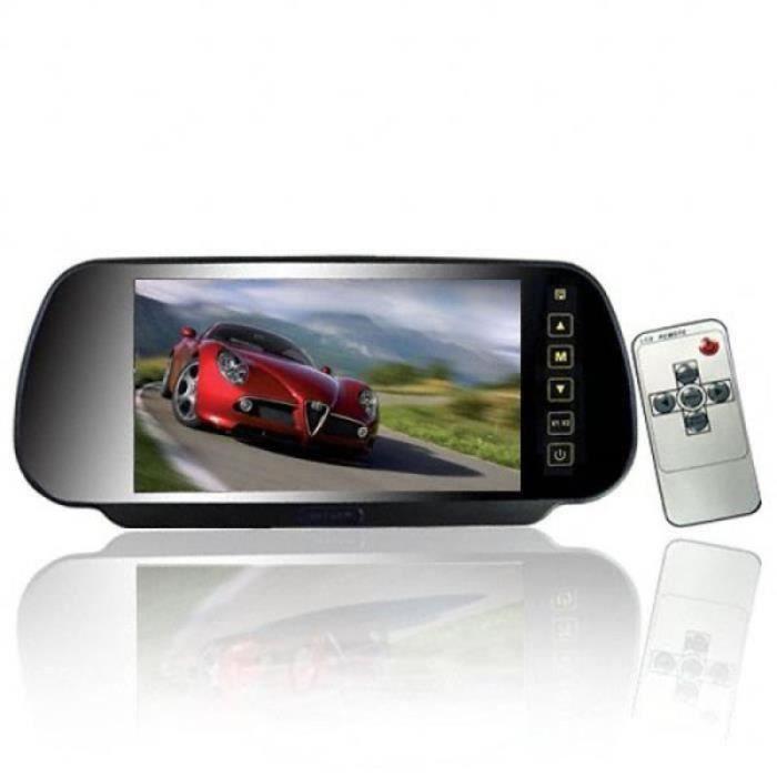 VV13026-1 Pc rétroviseur de voiture écran large moniteur de pour véhicule de BOITE NOIRE VIDEO - CAMERA EMBARQUEE