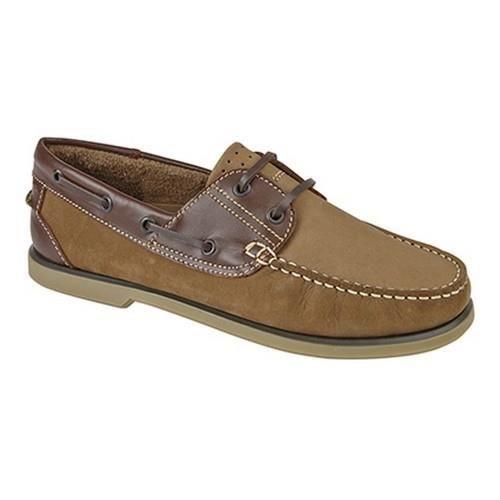 Dek - Chaussures bateau - Homme Nubuck marron