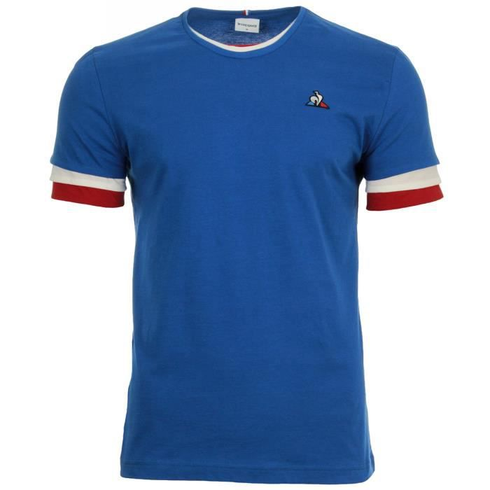 T-shirt Le Coq Sportif Tri Tee SS n°1 M