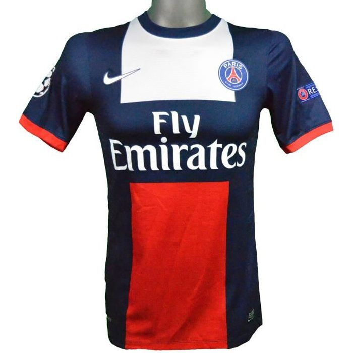 Maillot domicile authentique PSG 2013/2014 Ibrahimovic