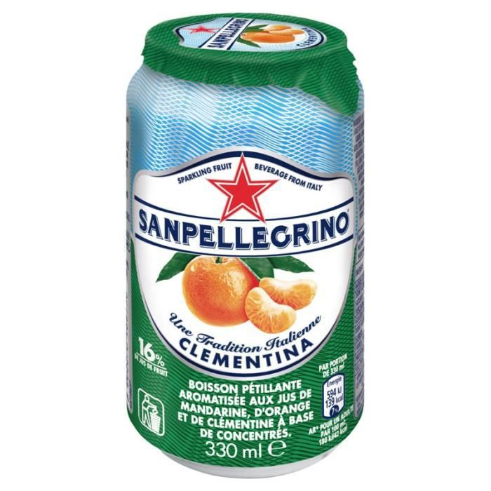 San Pellegrino - San Pellegrino Clementine 33cl (pack de 6)