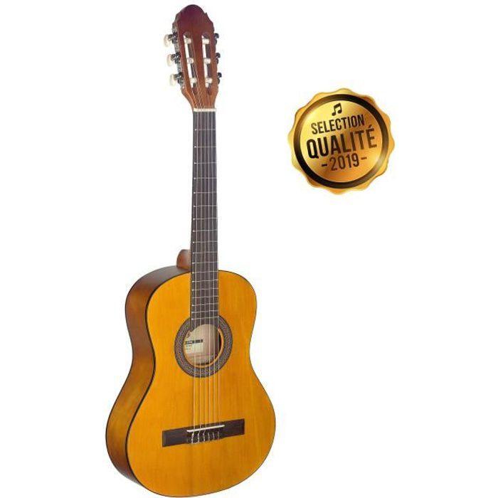 STAGG Guitare Classique C410 M 3-6 Ans Naturel