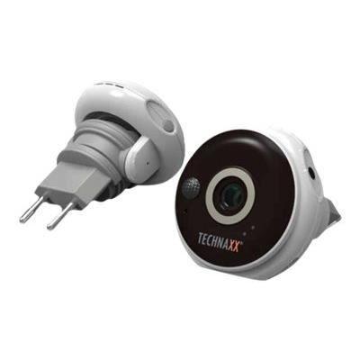 TECHNAXX Caméra de surveillance intérieure Full HD pour prise TX-57
