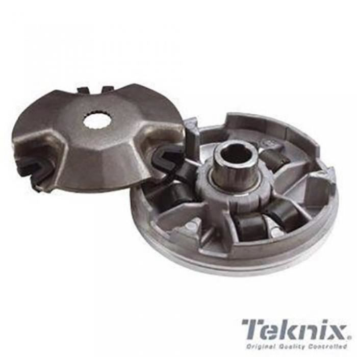 Variateur MBK Next pour 50 cc de Tous a NC 187346 etat variateur Teknix fourni avec 6 galets et 3 guides ( se monte sur les