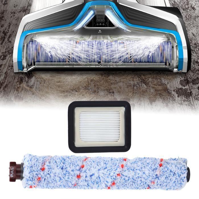 Accessoires pour aspirateur Filtre à brosse à rouleau pour Bissell Crosswave 1785 Series, Kit de remplacement de brosse HB025