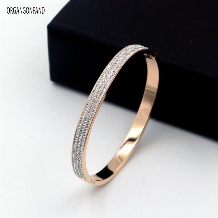 bracelet femme rose